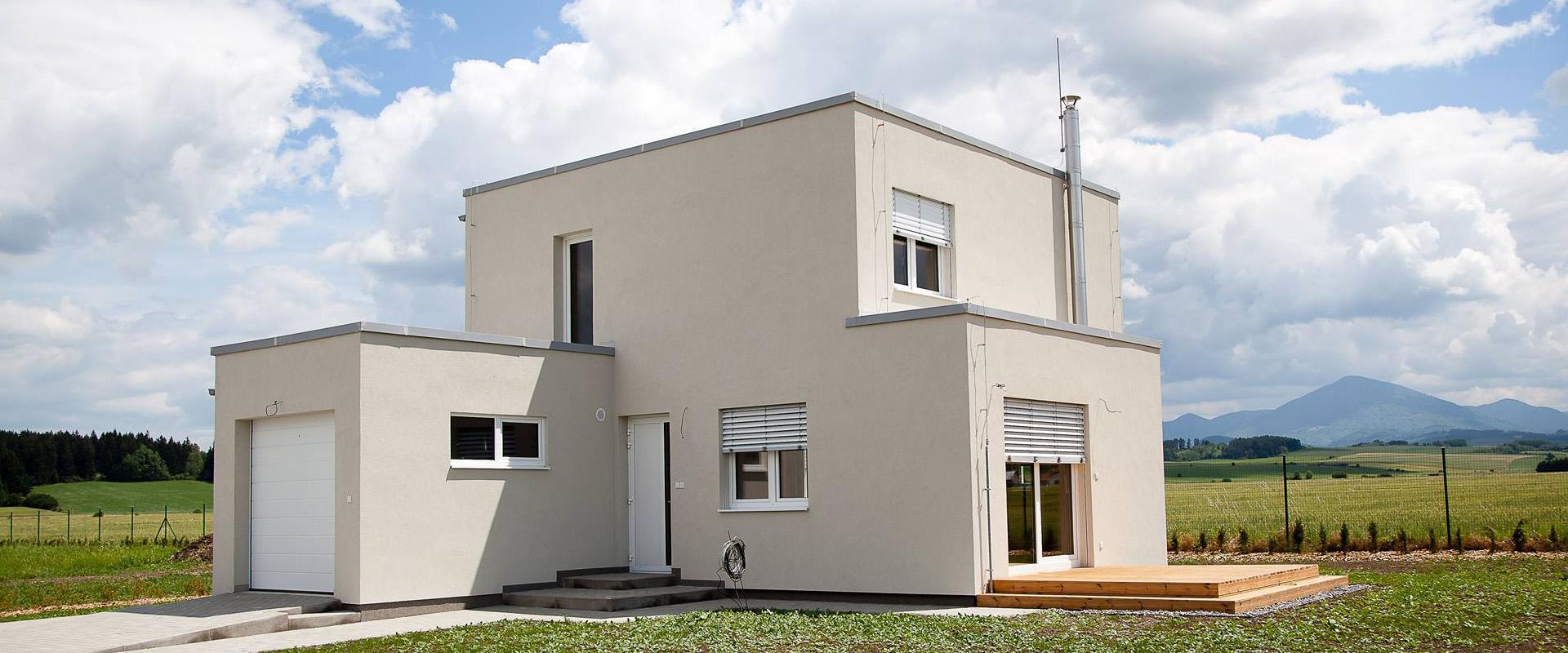 Staviame nízkoenergetické rodinné domy na kľúč
